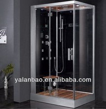 Italian steam shower cabin tempered glass shower cabin fitting room with surf jets G959