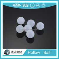 China large hollow plastic ball for water floating balls not grind or sewage disposal
