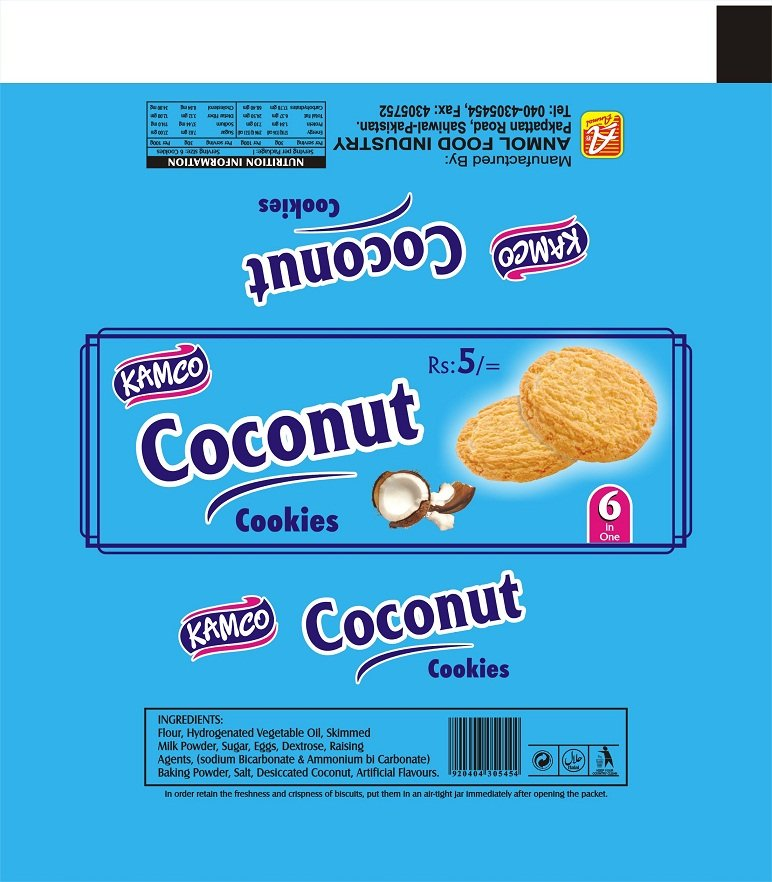 Kamco coconut cookies