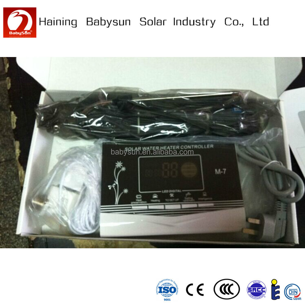 China Supplier Non Pressurized Solar Water Heater Controller M-7