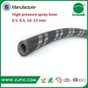 PVC High Pressure Air Hose flexible soft pvc water hose pipe with brass fittings