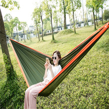 Outdoor Durable Swing Double/Single Person Parachute Hammock