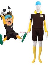 SunShine-Inazuma Eleven GO Shinsuke Nishizono Raimon soccer team Goalkeeper Uniform Anime Cosplay Costume