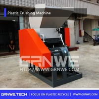 Scrap Plastic Crush Crusher Crushing Grinder Grinding Machine For Waste Pet Bottle Ldpe Hdpe Plastic Film Pp Woven Bags