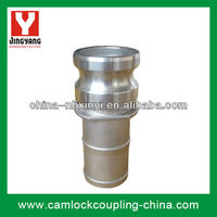 Stainless steel camlock coupling E( Cam and Groove fitting,Camlock Adapter,Hose Connector)