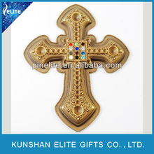 good quality custom crystal lapel pin,religious christian lapel pins with diamond