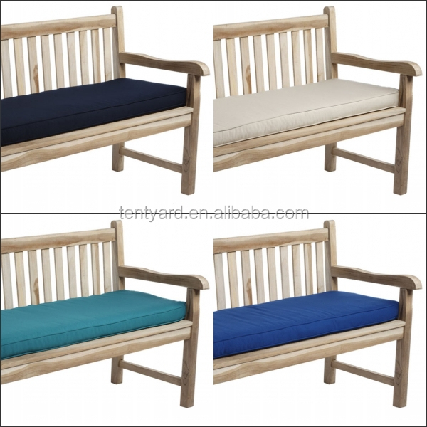 Waterproof 2 Seater Bench Swing Seat Cushion Garden Furniture Pad