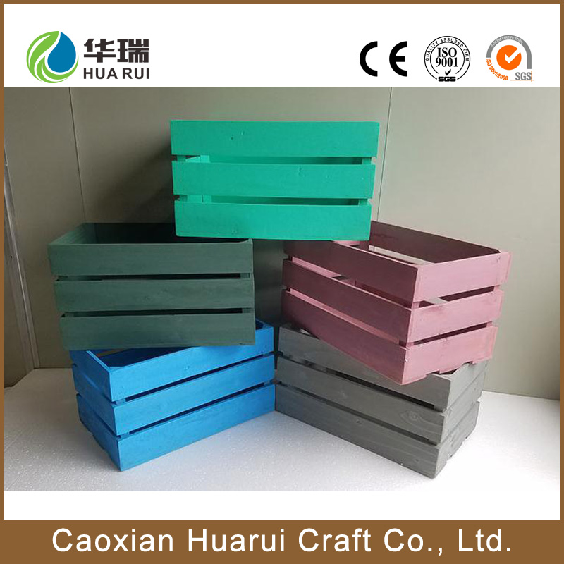 Heze Wholesale cheap wooden wine shipping crates