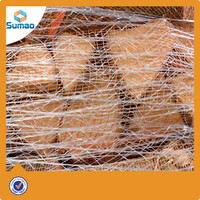 10g HDPE Raschel Knitted Pallet Net Wrap / Bale Net Wrap For Packing Hay