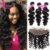 Grade A Brazilian Loose Wave Mink Virgin Human Hair Weave Double Drawn Cuticle Aligned Wholesale