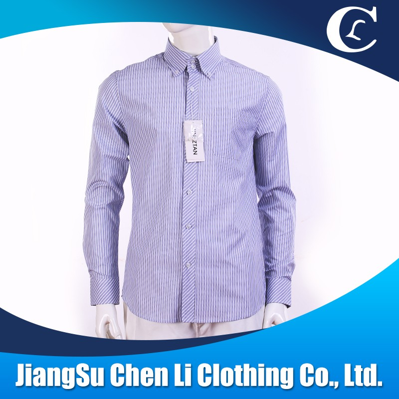 Custom 100% cotton shirt with latest shirt designs for wholesale