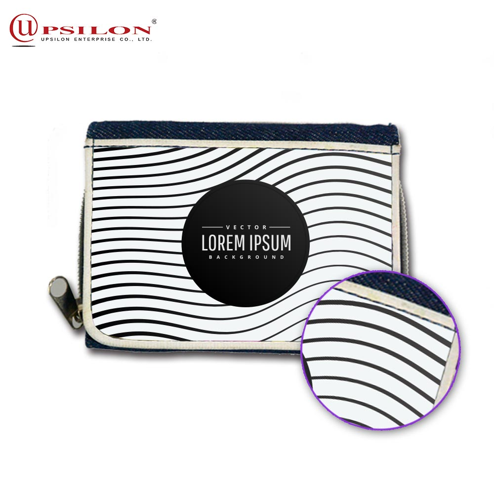 Design Photo Image Custom Sublimation Travel Wallet