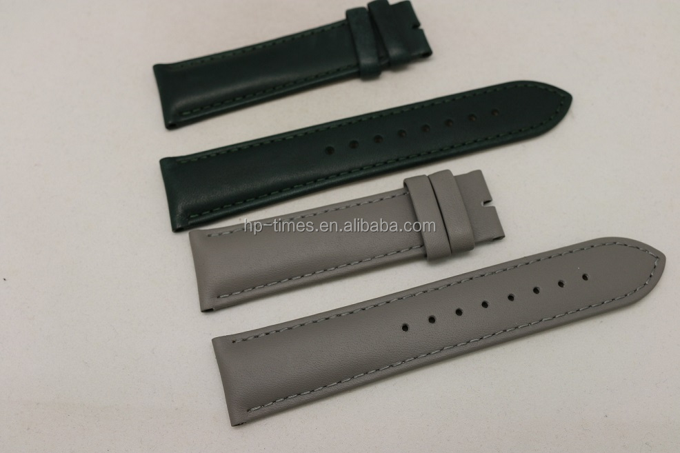 Free Sample High Quality Genuine Leather Watch Strap