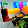 2016 19 colors for chose e cigarette Mod Controller CUBOID 150W Temp Control Box Mod silicone case skin sleeve
