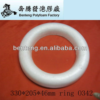 2013 best-selling white foam Christmas rings