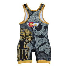 Youth/Adults Cheap sublimated custom-made wrestling singlets