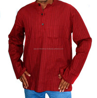 New Fashion Arrival Mens Cotton Short Kurtas