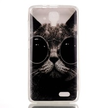 Luury Cute Painted Soft TPU Cell Phone Cover Case For Lenovo A536 A358T Case Silicone Back Cover For Lenovo A 536 Case Cartoon