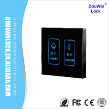 Electronical smart hotel switch touch screen light switch for room