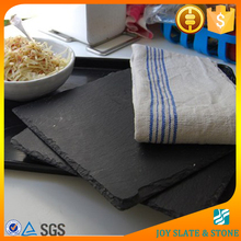 Wholesale natural slate square dinner plate