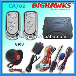 car alarm security system CA702-8108 car alarm system -china cars in pakistan