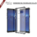 Shockproof Smartphone Cover Tpu Acrylic Transparent Mobile Phone Shell Case For Samsung Galaxy Note 8