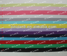 "1/8"" skinny FOE fold over elastic, many colors for choose"