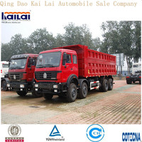 Bei Ben 8x4 340hp Dump Truck For Hot Sale/armored trucks for sale