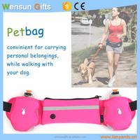 dog poop bag holder walking training pet bag waist pack fashionable pet bag