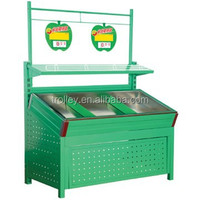 Various fruit vegetable display rack,different material and layer.