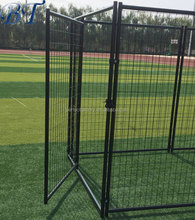 Wholesale galvanized steel dog cage for sale cheap/welded wire mesh dog kennel