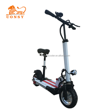 ES1001C 10inch 2 wheel 350w 36v 10ah dc motor portable adult cheap electric scooter