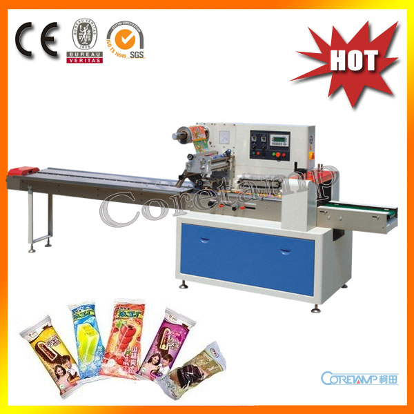Automatic Flow Ice Cream Stick Packaging Machine