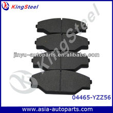 Good quality Brake pad for Toyota Dyna Platform/Chassis 2.4D 04465-YZZ56