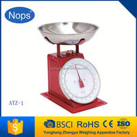 Hot selling mechanical Weighting Scale Indicator crane spring balance [