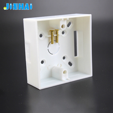 Surface Mounting Electrical Single Gang Box Sockets Wall Switch Box