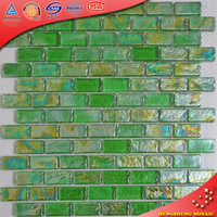 Wall art decor matt peel and stick glass mosaic tile splashback