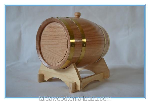 Petit tonneau en bois décorationArtisanat folkloriqueID de produit  ~ Petit Tonneau En Bois
