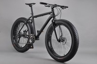 26 inch Snow bike carbon fat bike frame