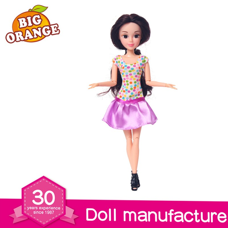 Abbie 11.5 inch Wholesale Fashion Custom Big Eye Girl Doll