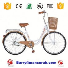24 size tandem bicycle for 2 people with 2 wheel, mother and kid combined city bike