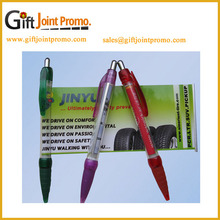 China Manufacturer Scroll Banner Custom LOGO Plastic Ballpoint Pen