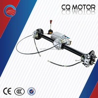 60V tricycle differential for passenger, tricycle rear differential axle, electric car motor
