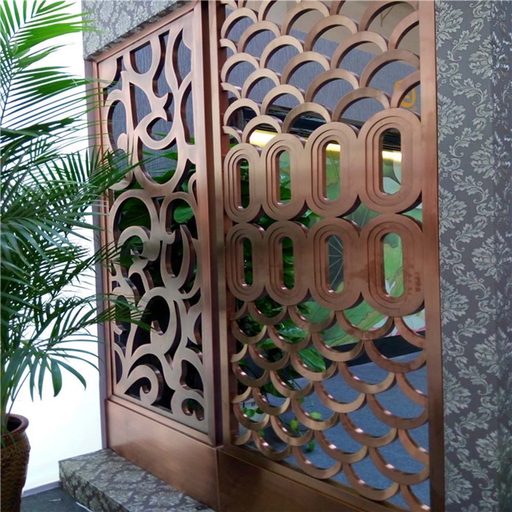 Decorative Metal Screen Divider Metal Outdoor Privacy Screens