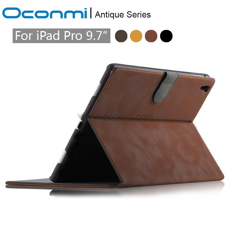 Feather PU Leather Stand For Apple iPad pro 9.7 Case with card slot Protector back cover For iPad Pro Mini 9.7 inch Tablet Case