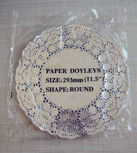 Aluminum Silver /gold Paper Placemats Colored Lace Paper Doilies with All Sizes and Colours