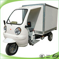 best selling cabin gasoline cargo tricycle with closed body