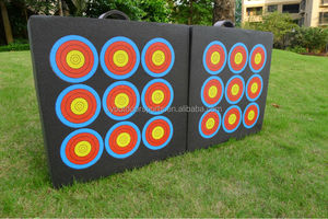Portable Archery Target 9 rings for compound bow and crossbow