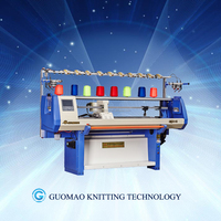 Fully computer jacquard hat making machine single system/double system/three system