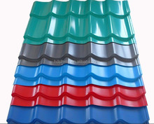 color coated zinc steel corrugated roofing tiles or corrugated metal sheet or tile